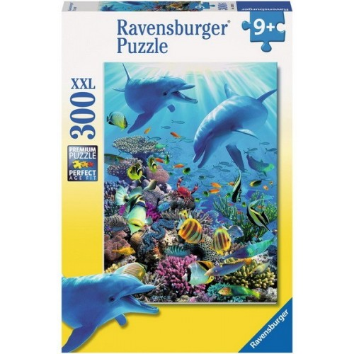 Underwater Adventure, Ravensburger Puzzle 300 pcs XXL