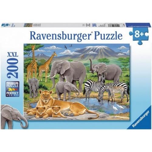 Afrika állatai, Ravensburger 200 darabos XXL puzzle