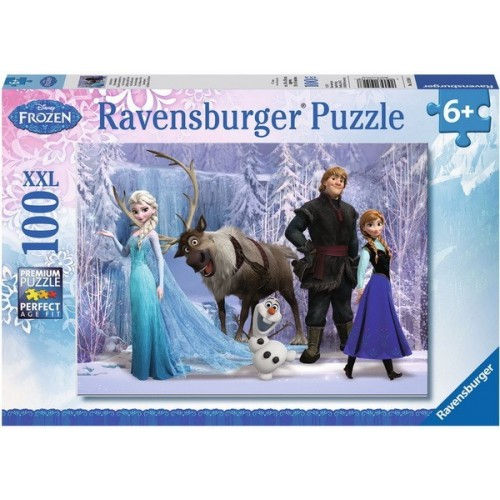 Frozen - In the Realm of the Snow Queen, Ravensburger Puzzle 100 pcs XXL