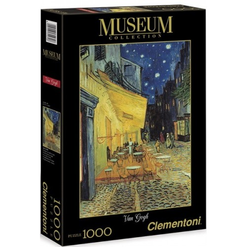 Éjszakai kávézó - Van Gogh, Clementoni 1000 darabos puzzle