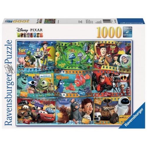 Disney-Pixar mozifilmek montázs, Ravensburger 1000 darabos puzzle