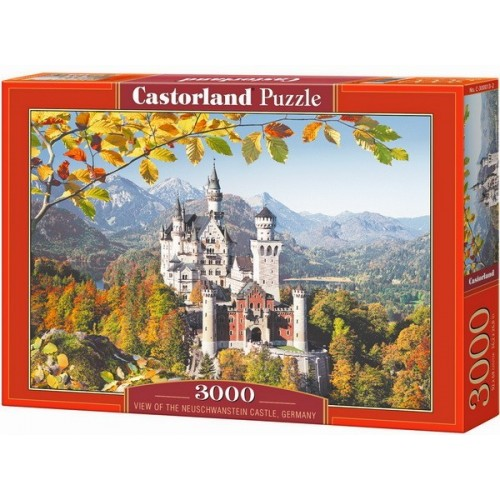 Neuschwanstein Castle - Germany, Castorland puzzle 3000 pc