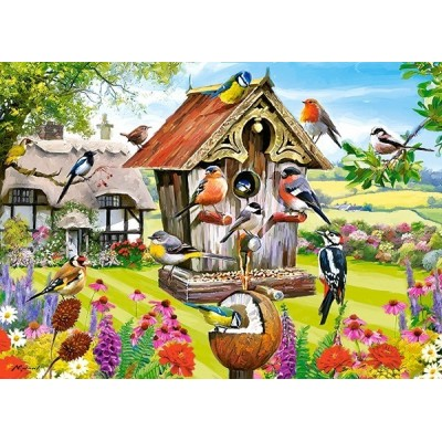 Madárlak, Castorland puzzle 180db