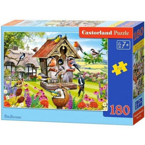 Birdhouse, Castorland Midi Puzzle 180pc
