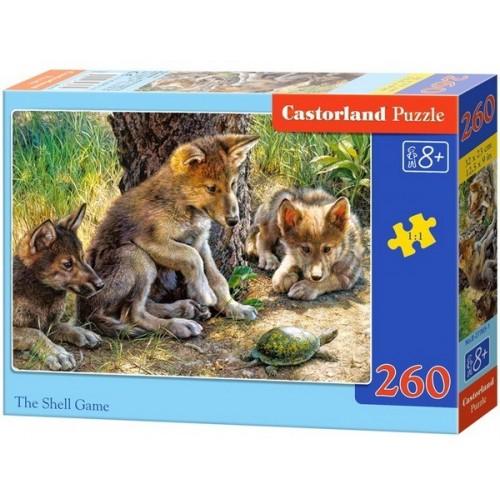 Farkaskölykök, Castorland 260 darabos puzzle