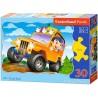 Terepjáró, Castorland 30 darabos puzzle