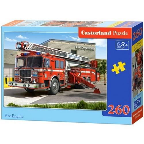 Tűzoltóautó, Castorland 260 darabos puzzle