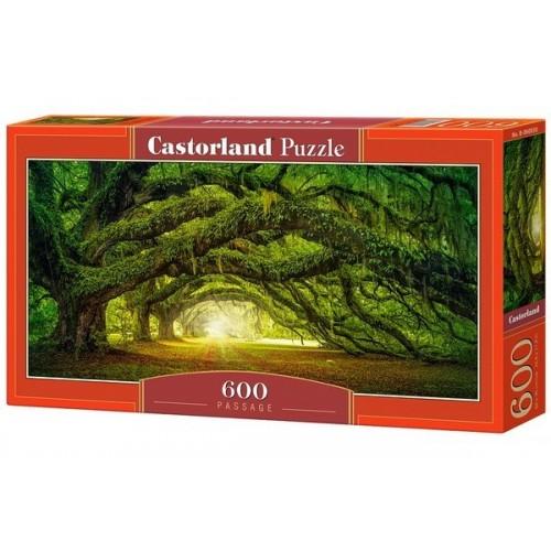 Passzázs, 600 darabos Castorland panoráma puzzle