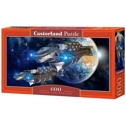 Space Exploration, Castorland panoramic puzzle 600 pcs