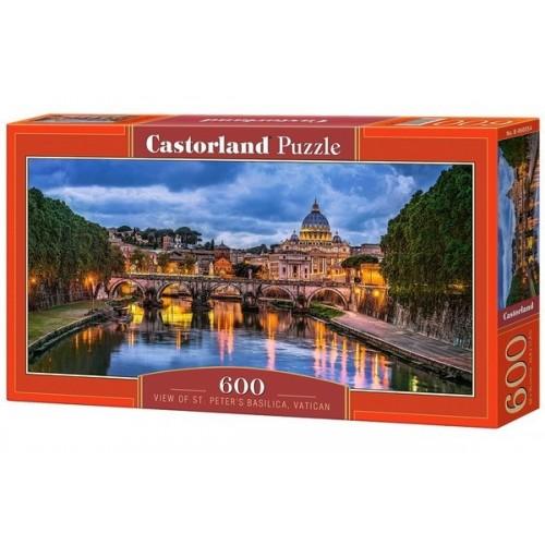 St Peter's Basilica, Castorland panoramic puzzle 600 pcs