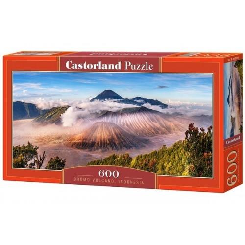 Bromo vulkán, 600 darabos Castorland panoráma puzzle