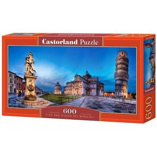 View of The Forum Romanum, Castorland panoramic puzzle 600 pcs