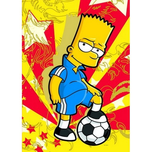 Simpsons - Bart the Star, Educa Puzzle 500 pc
