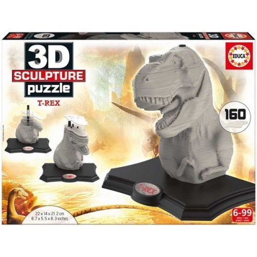 Tutankhamon, 3D Sculpture puzzle 160 pc