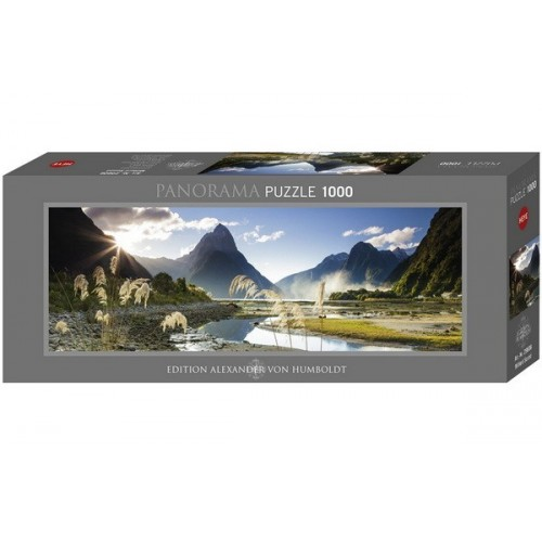 Milford Sound, Heye - Edition Humboldt panoráma puzzle, 1000 db