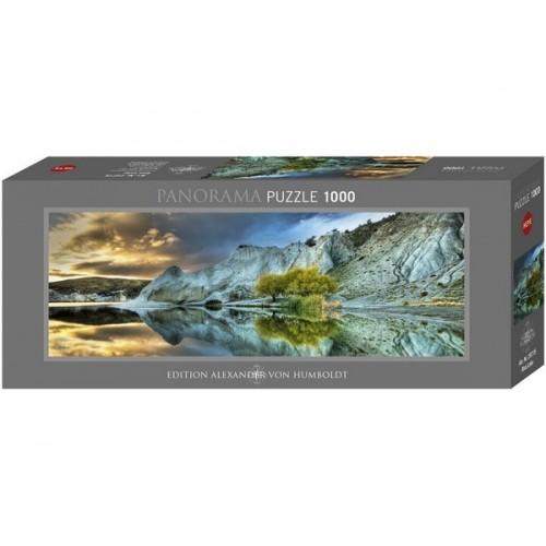 Blue Lake, Heye - Edition Humboldt panorama puzzle, 1000 pc
