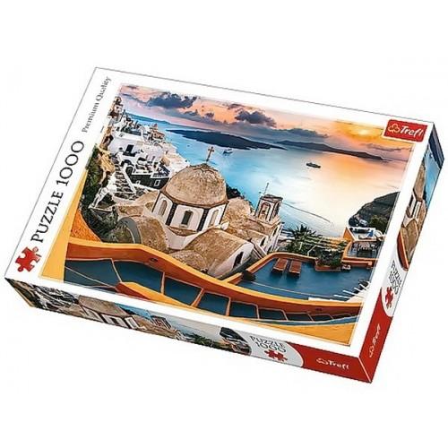 Fairytale Santorini, Trefl Puzzle, 1000 pcs