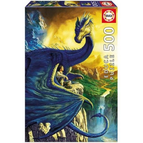 Eragon és Saphira, 500 darabos Educa Puzzle