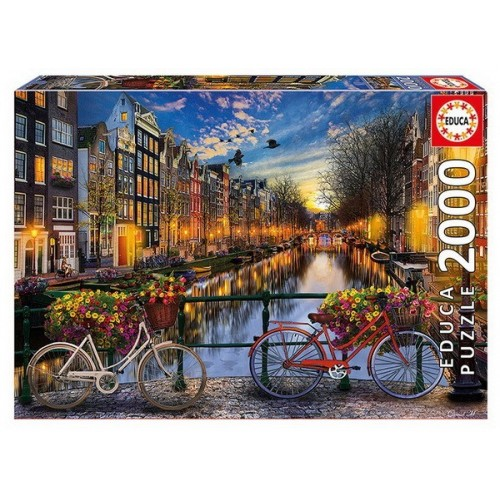 Amsterdam with Love, Educa Puzzle 2000 pc