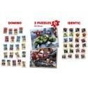 Bosszúállók, Educa SuperPack puzzle és játékszett