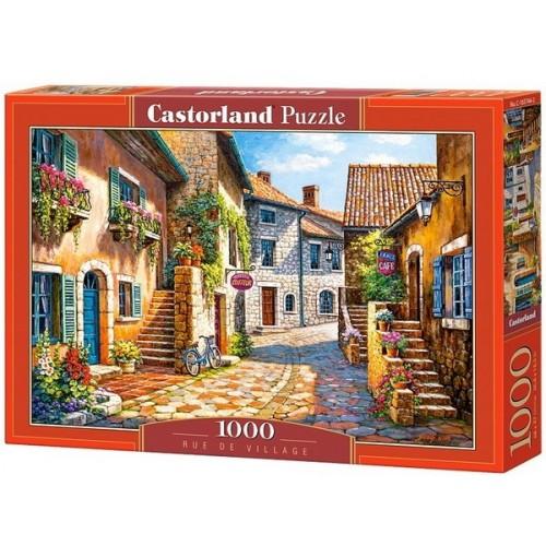 Kisvárosi utca, Castorland Puzzle 1000 darabos képkirakó