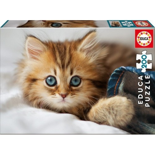 Cica, Educa puzzle 200 darabos képkirakó