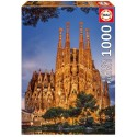 Sagrada Familia - Barcelona, Educa Puzzle 1000 darabos