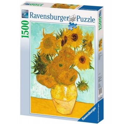 Sunflowers - Van Gogh, Ravensburger Puzzle 1500 pc