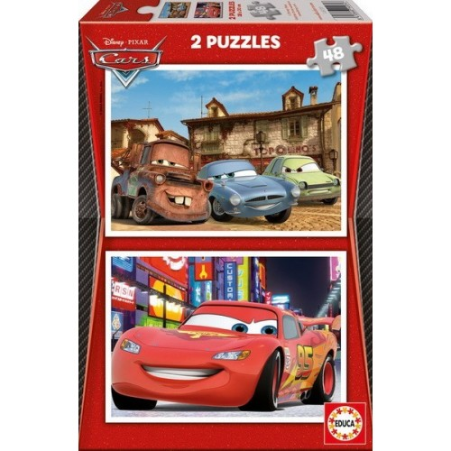 Cars, Educa Puzzle 2x48 pc