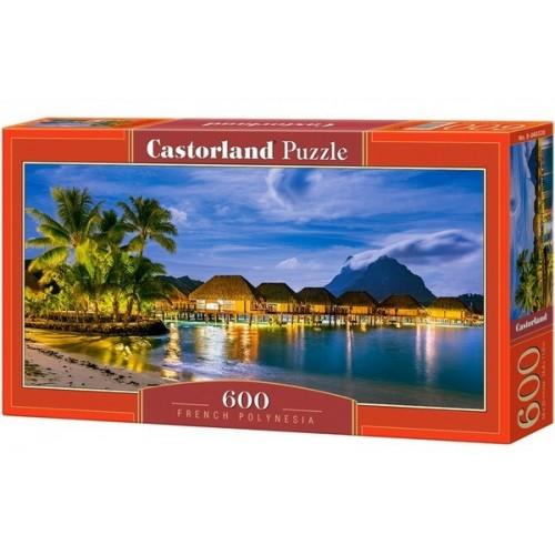 Francia Polinézia, 600 darabos Castorland panoráma puzzle