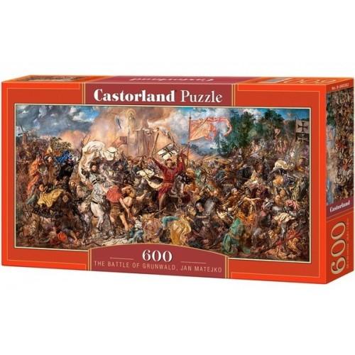 The Battle of Grunwald - Jan Matejko, Castorland panoramic puzzle 600 pcs