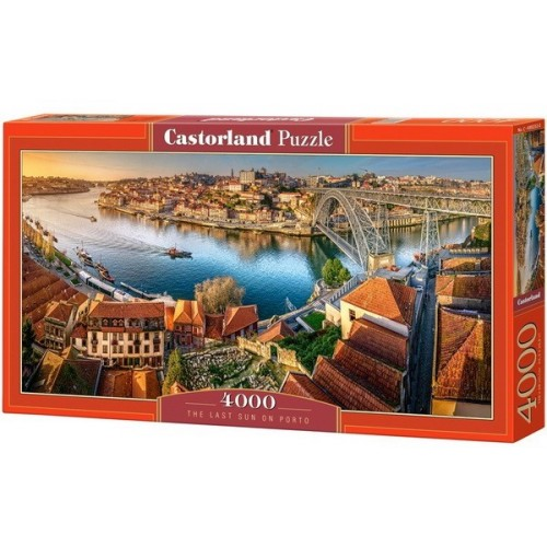 The Last Sun on Porto, Castorland Puzzle 4000 pc