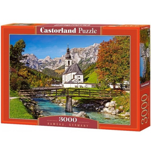 Ramsau - Germany, Castorland puzzle 3000 pc