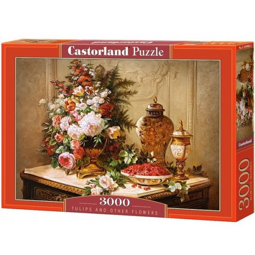 Tulips and Other Flowers, Castorland puzzle 3000 pc