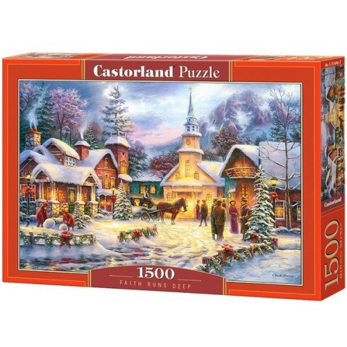 Faith Runs Deep, Castorland puzzle 1500 pc
