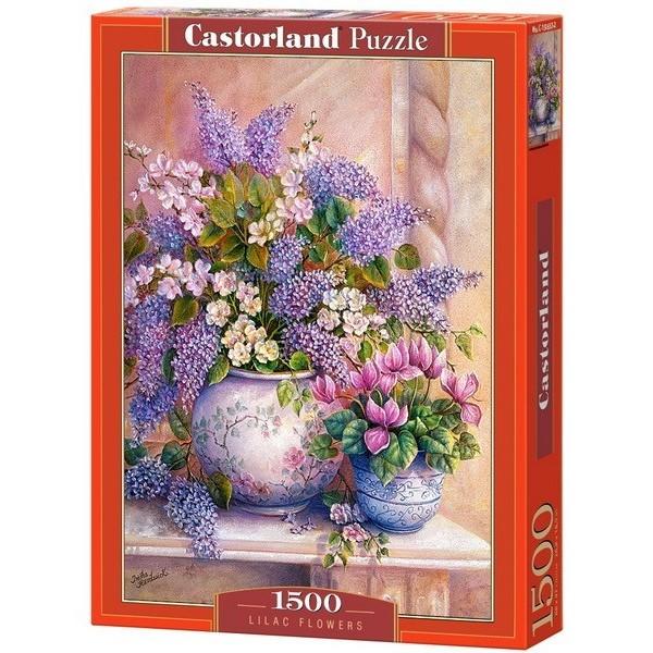 Lilac Flowers, Castorland puzzle 1500 pc