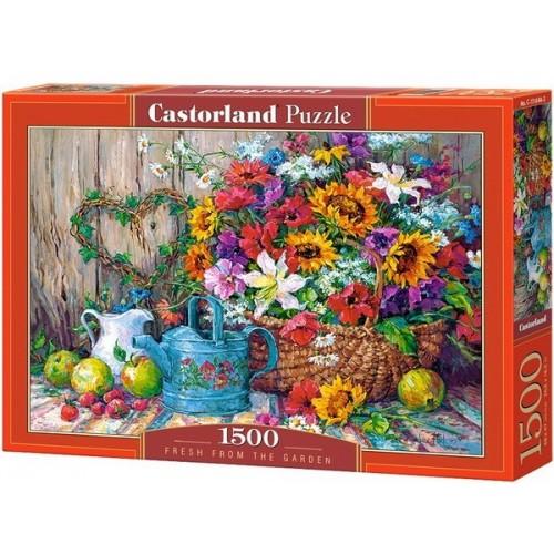 Frissen a kertből, Castorland puzzle 1500 db