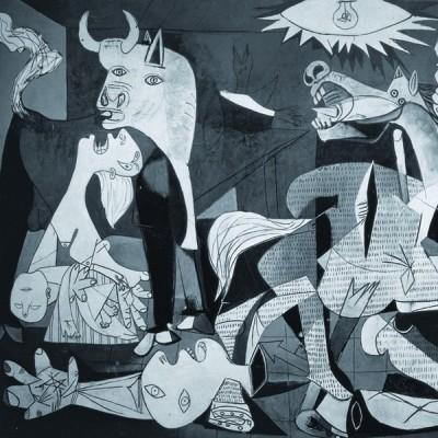 Guernica - Pablo Picasso, Educa Panorama Puzzle 3000 pcs