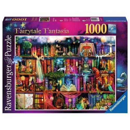 Tündérmesék fantázia, 1000 darabos Ravensburger Puzzle