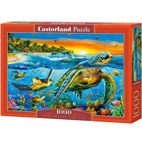 Underwater Turtles, Castorland Puzzle 1000 pc