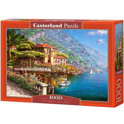 Apátság - Bellagio (Olaszország), 1000 darabos Castorland Puzzle