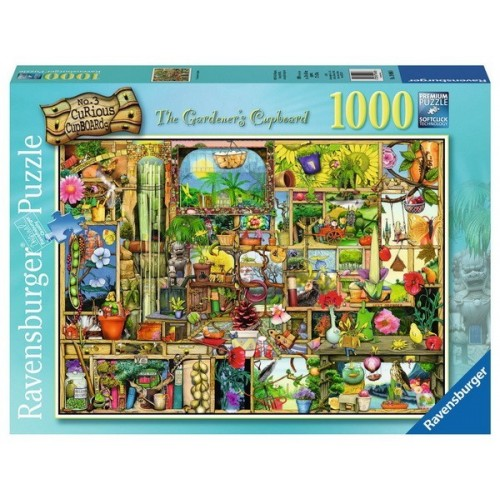 The Gardener's Cupboard - Colin Thompson, Ravensburger Puzzle 1000 pc