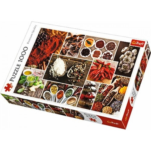Spices - collage, Trefl puzzle 1000 pc
