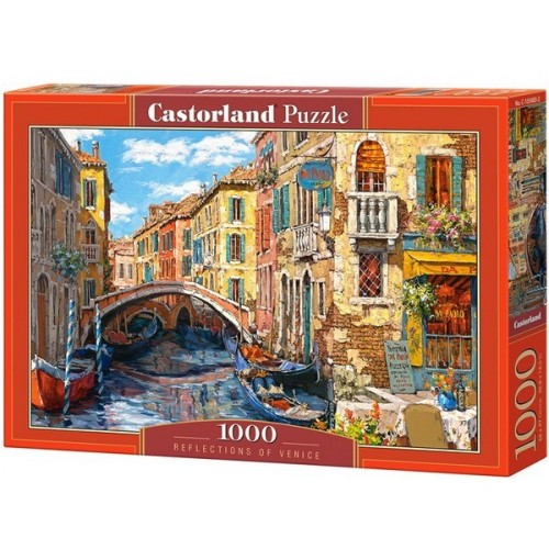 Velence, 1000 darabos Castorland Puzzle