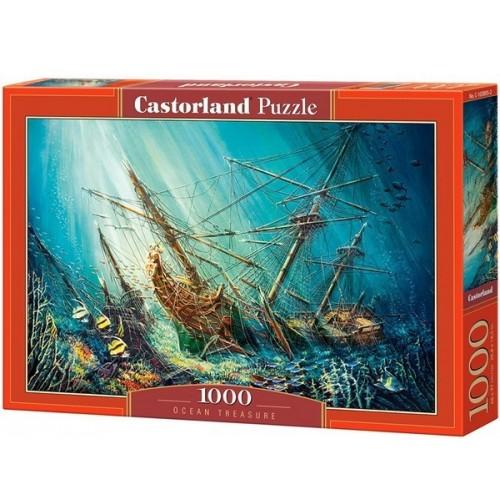 Óceán kincse, 1000 darabos Castorland Puzzle