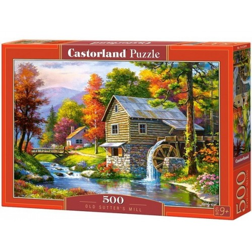 Old Sutter's Mill, Castorland Puzzle 500 pcs
