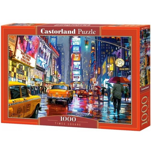 Times Square, 1000 darabos Castorland puzzle