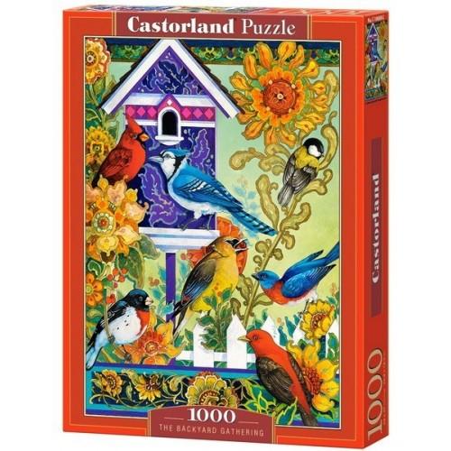 Kiskertem madárkái, Castorland Puzzle 1000 db
