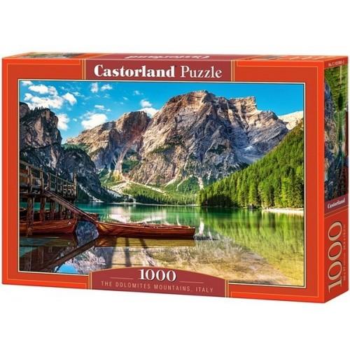Dolomitok - Olaszország, Castorland Puzzle 1000 darabos képkirakó