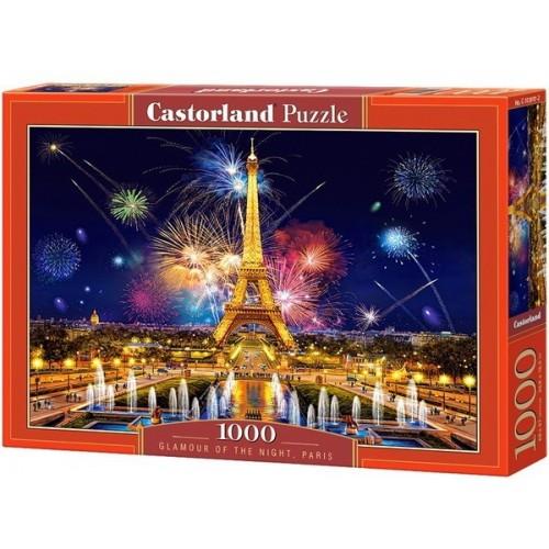 Tüzijáték Párizsban, Castorland Puzzle 1000 darabos képkirakó